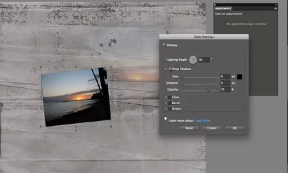 Blend Photos into your layouts
