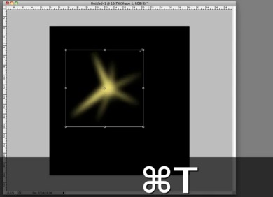 Create a sparkling brush in Photoshop