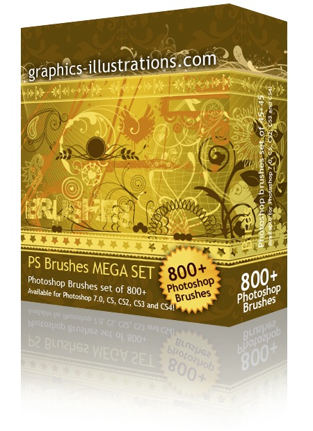Photoshop Brushes Mega Set