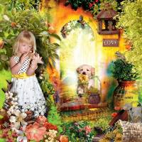 scrapbooking kit Enchanted Summer