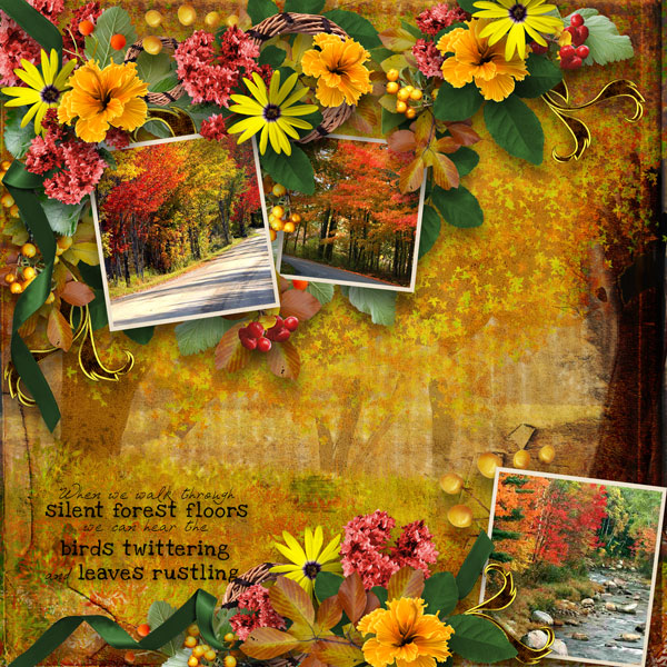 1000 Colors Digital Scrapbooking – Fall Photography