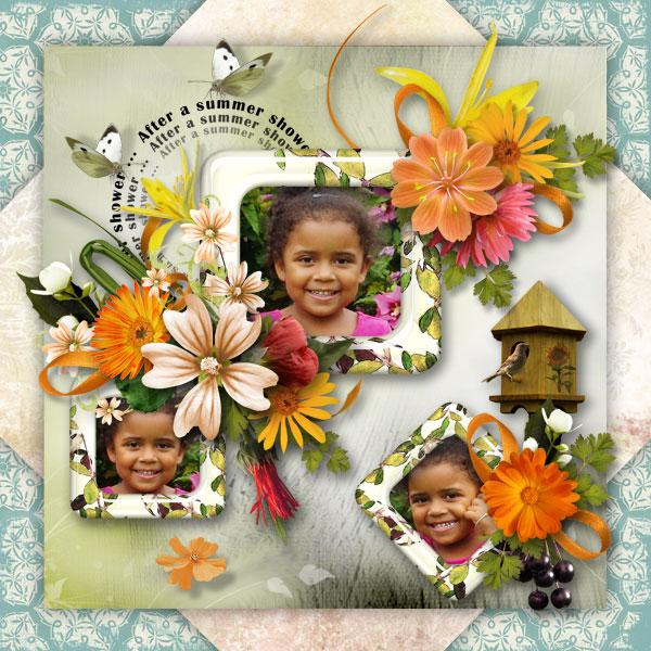 Taking Summer Pictures for Digital Scrapbooking Layouts