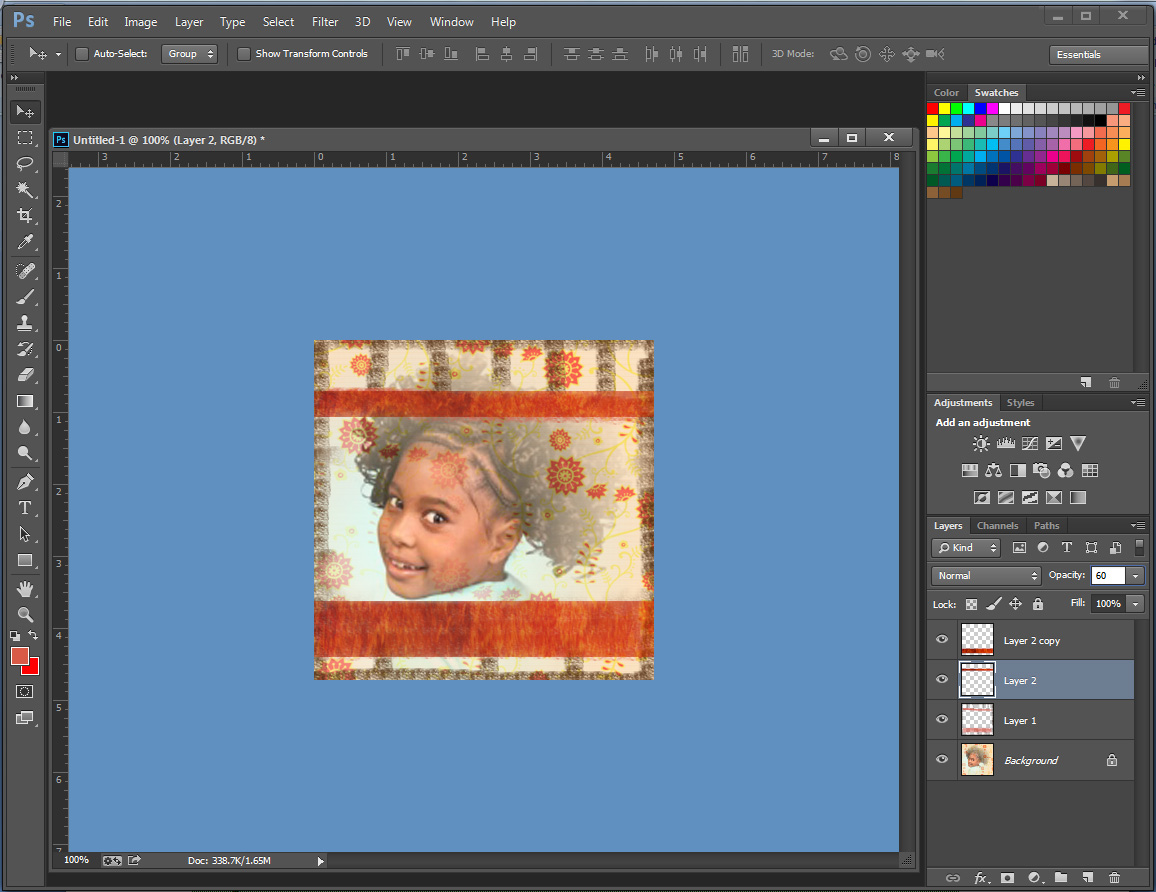 how to create layer mask in photoshop