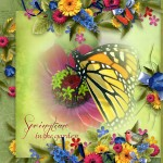 Spring Digital Scrapbooking (with Freebie)