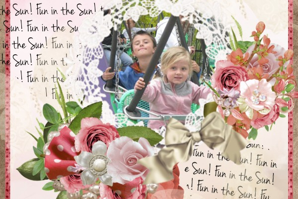 Fun in the Sun (Create a Digital Scrapbooking Layout)