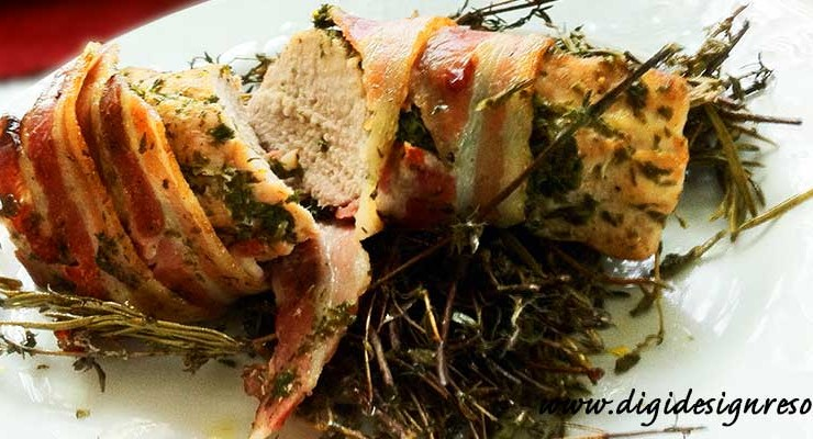 Filet of Pork with Herbs