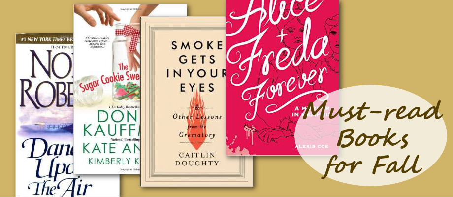 Must-Read Books for Fall