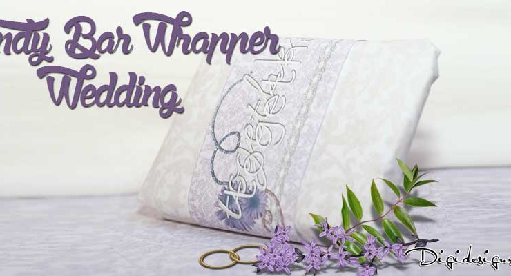Candy Bar Wrapper Wedding