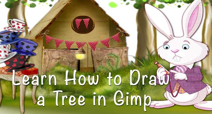How to Draw a Tree in GIMP