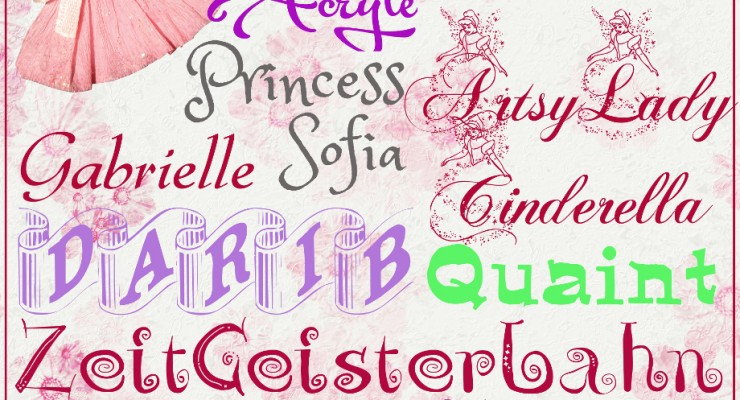 Princess Fonts