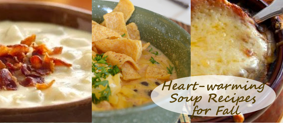 Heart-warming Soup Recipes for Fall