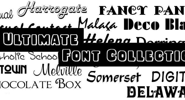 Ultimate Font Download – 10,000 Fonts for Commercial Use