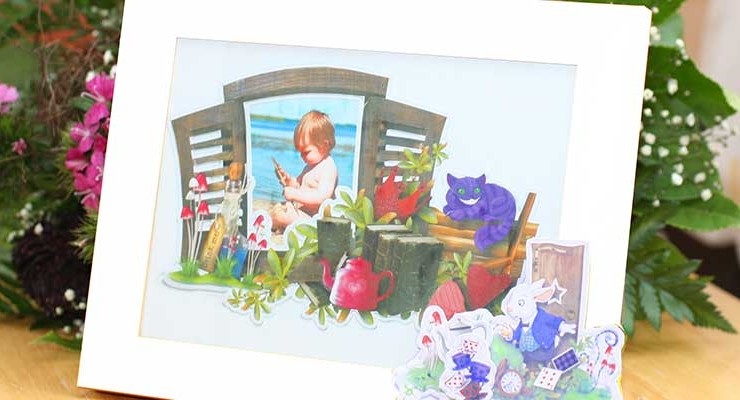 Wonderland Frames for your Child's Room