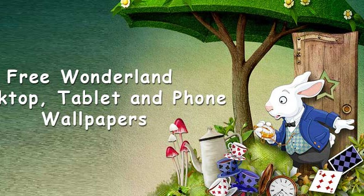 Free Desktop Wallpaper Alice's Adventures in Wonderland