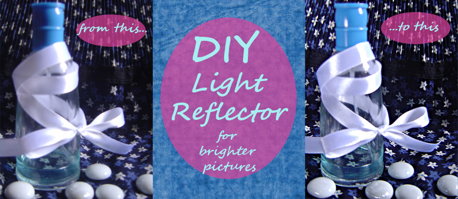 DIY Light Reflector for Brighter Pictures