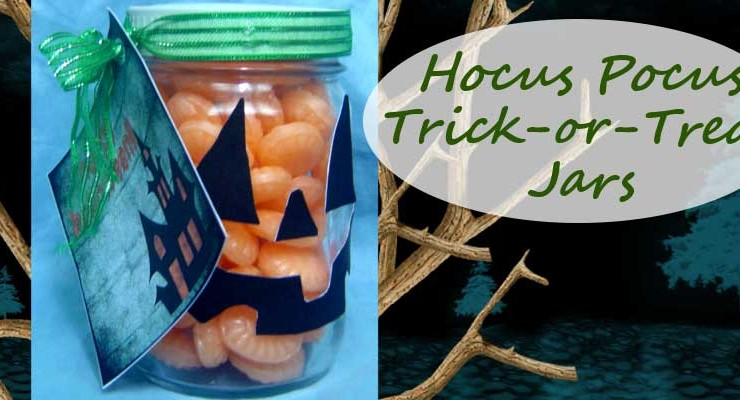Hocus Pocus Trick-or-Treat Jar