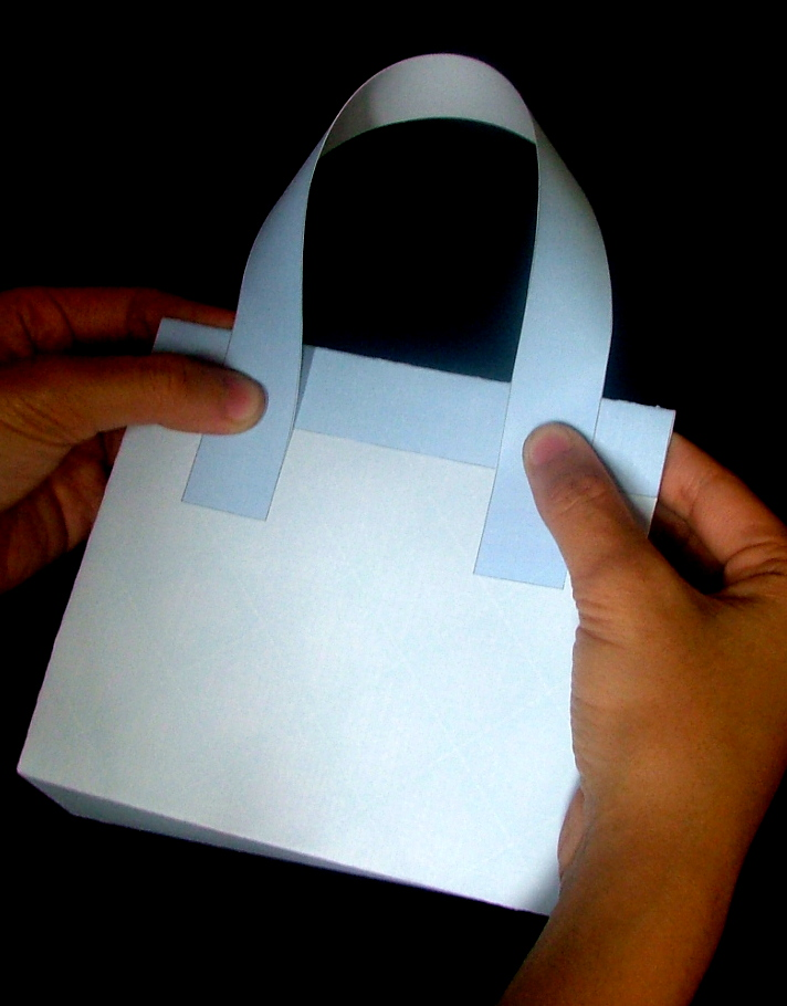 Foldable Paper Hand Bag