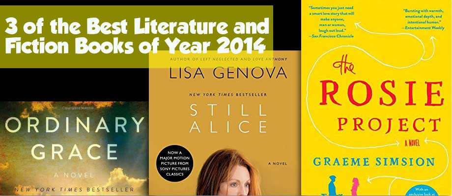 3 of the Best Literature and Fiction Books of Year 2014