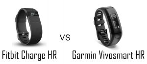 Fitbit Charge HR vs. Garmin Vivosmart HR