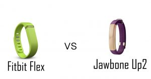 Fitbit Flex vs. Jawbone Up2