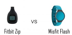Fitbit Zip vs Misfit Flash
