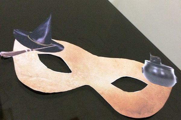 Halloween Printable – Create a Mask in Photoshop