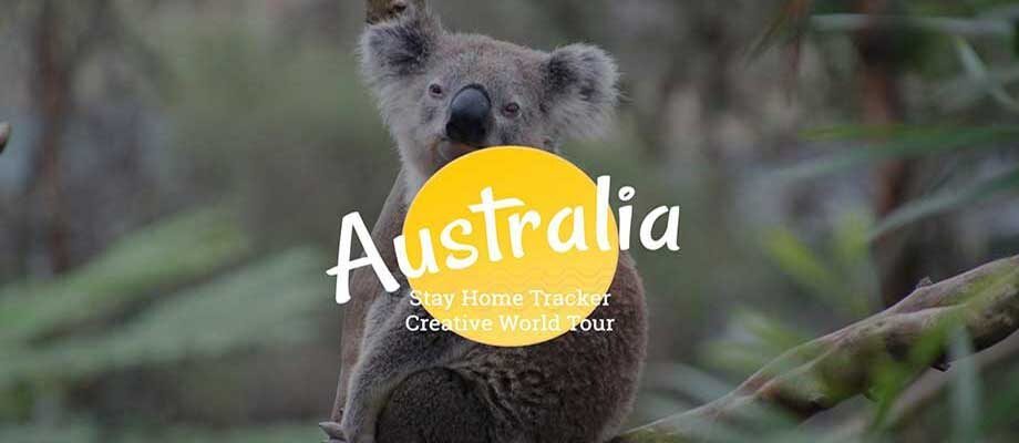 Creative World Tour Australia: Stay Home Printable and Tracker